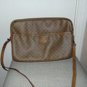 Vintage Gucci Gg Supreme Shoulder Bag